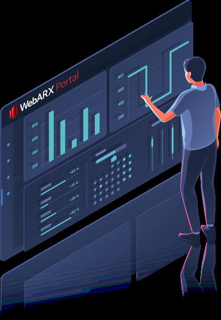 website firewall webarx website security