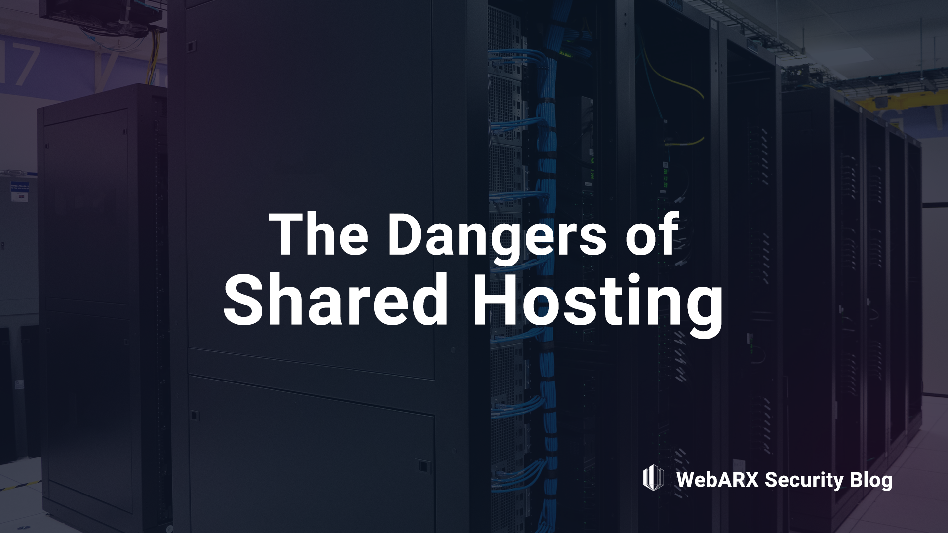 dangers of shared hosting webARX web application security website security