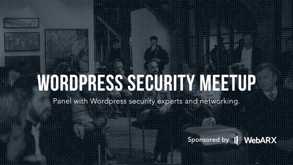 WordPress Security Meetup