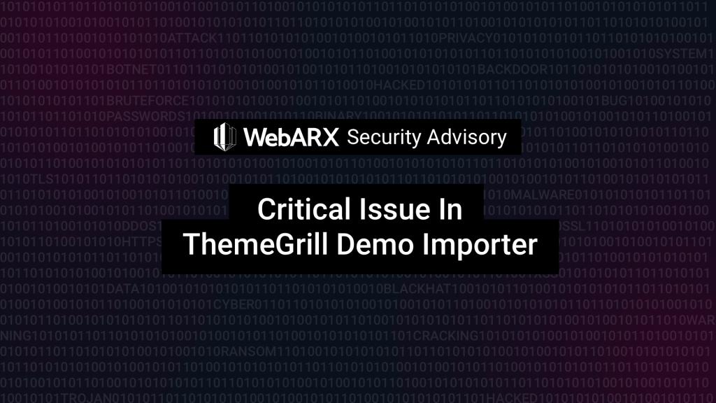 themegrill demo importer